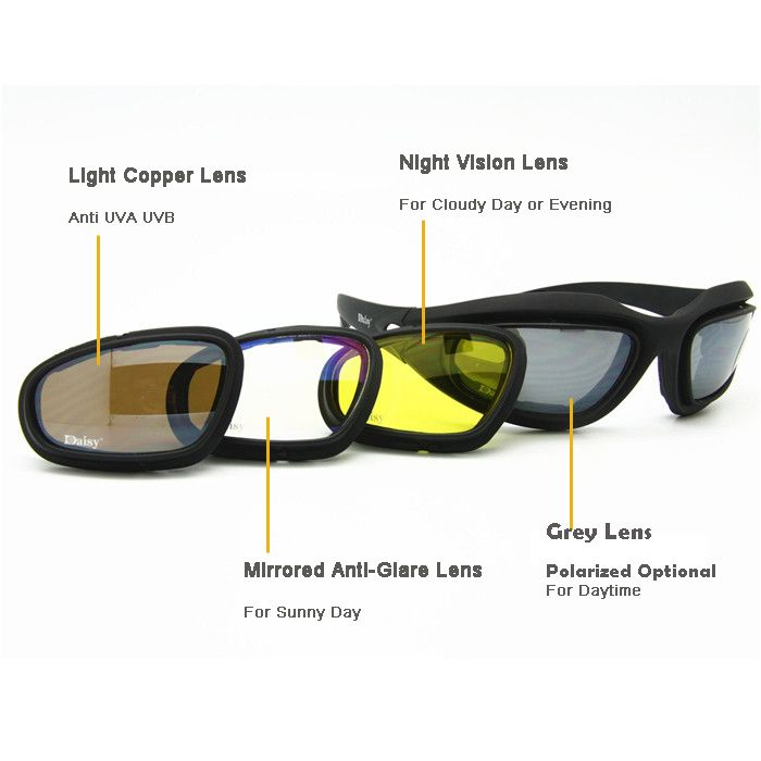 Ciondoli Sunglasses Tactical Polarized Army Goggles Sunglasses Men Military Sun Glasses For Mens Desert War Goggles