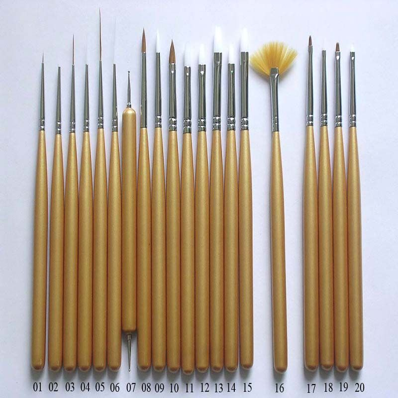Top nail art brushes nail design art 2015 top nail art brushes nail art supplies prinsesfo Gallery