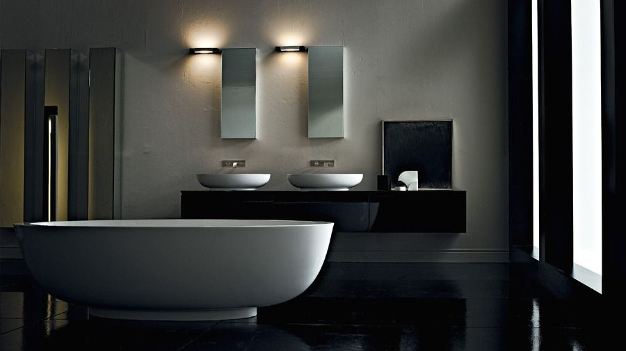 Bathroom Interior With Modern Recessed Lighting Fixtures This Adorable Bathroom Lightin Model