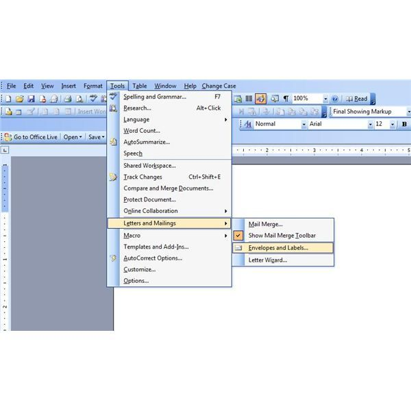 How To Make And Print Postcards In Microsoft Word