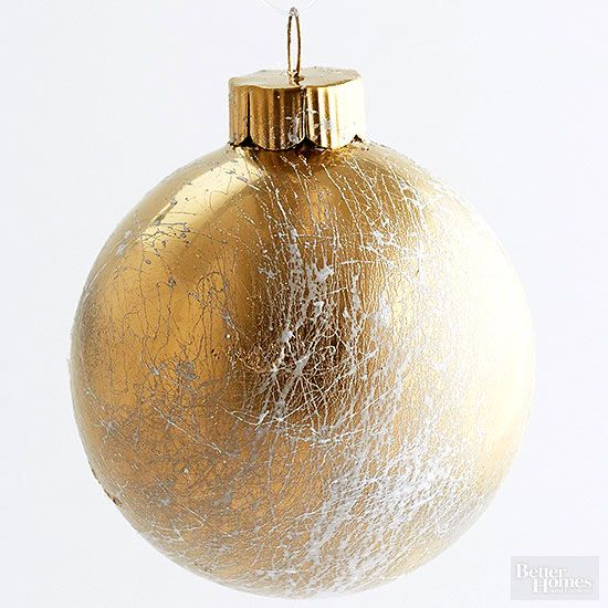 25 Ways to Dress Up Plain Christmas Ornaments - 25 Ways To Dress Up Plain Christmas Ornaments Flourish, Spray