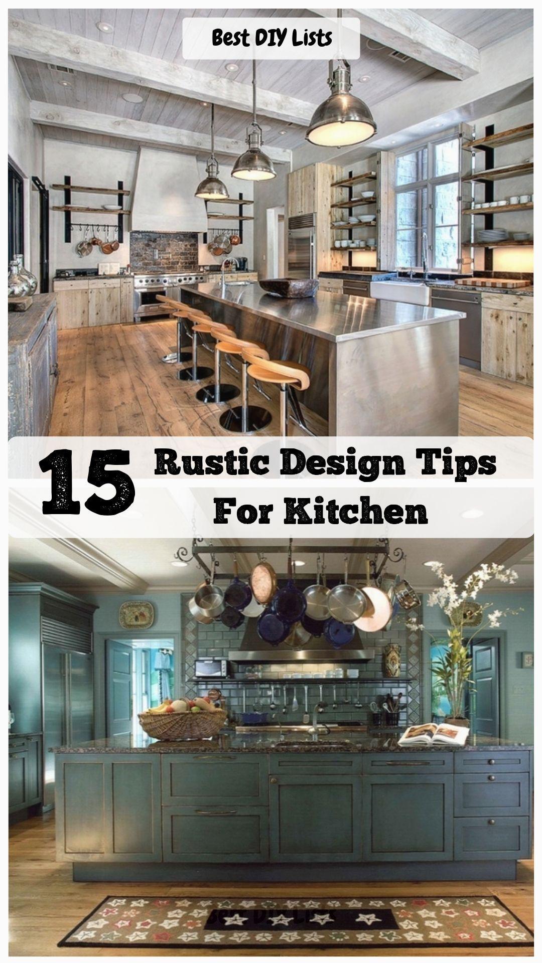 Open Kitchen RemodelRustic Kitchen Design Ideas #rusticdesign #kitchen #kitchendecor #kitchenremodel #homedecor #openkitchen