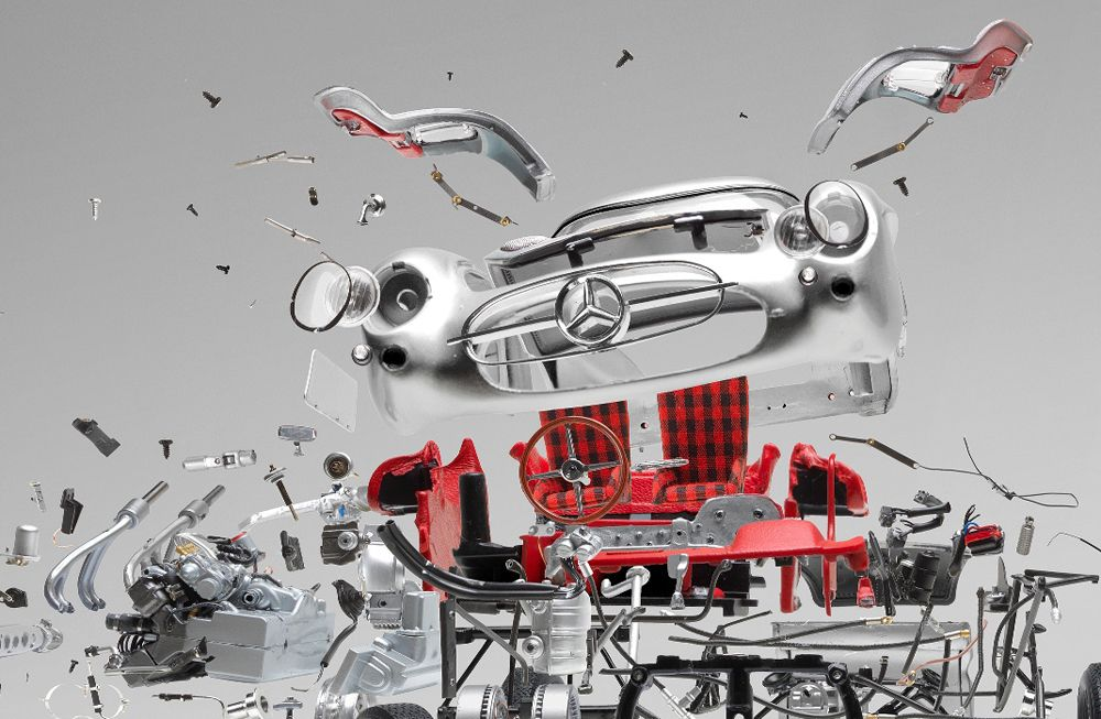 Look at These Amazing Exploded Views of Classic Sports Cars ...