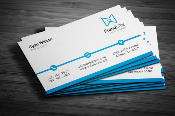 Simple Clean Business Card Simple Business Cards Cleaning Business Cards Corporate Business Card
