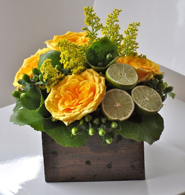 Designing with citrus and cut flowers green and yellow floral designing with citrus and cut flowers green and yellow floral mightylinksfo