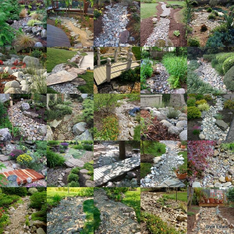25 Gorgeous Dry Creek Bed Design Ideas Style Estate Dry Creek Bed Dry Creek Creek Bed
