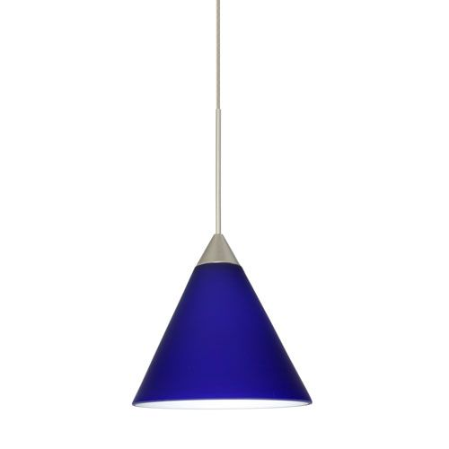 Kani satin nickel led mini pendant with flat canopy and cobalt save on blue mini pendant lighting page 7 at bellacor shop lighting with confidence price match guarantee hundreds of ceiling lighting brands ship free aloadofball Images