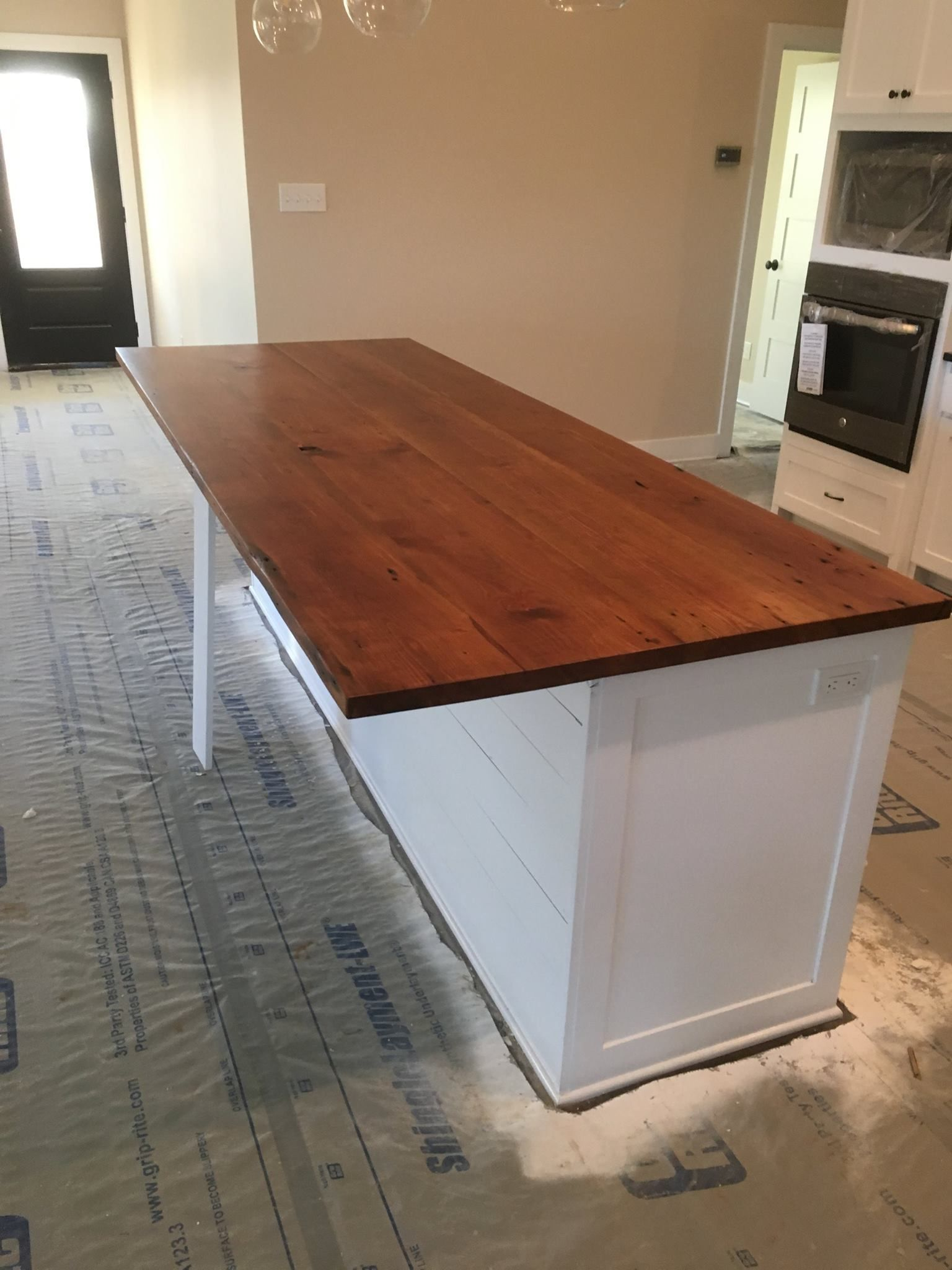 Reclaimed Lumber Kitchen Island Built Using Our Lumber Antique Lumber Company Shiplap Kitchen Reclaimed Wood Lumber