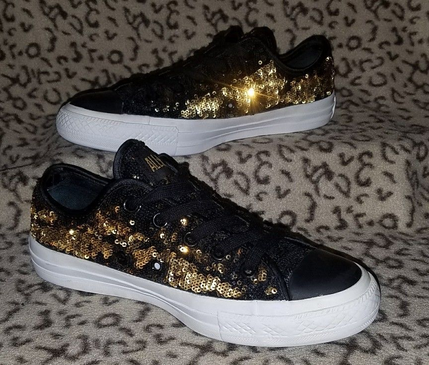 GOLD SNEAKERS #Converse #Casual