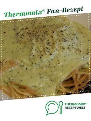 Zucchini Soße mit Spaghetti