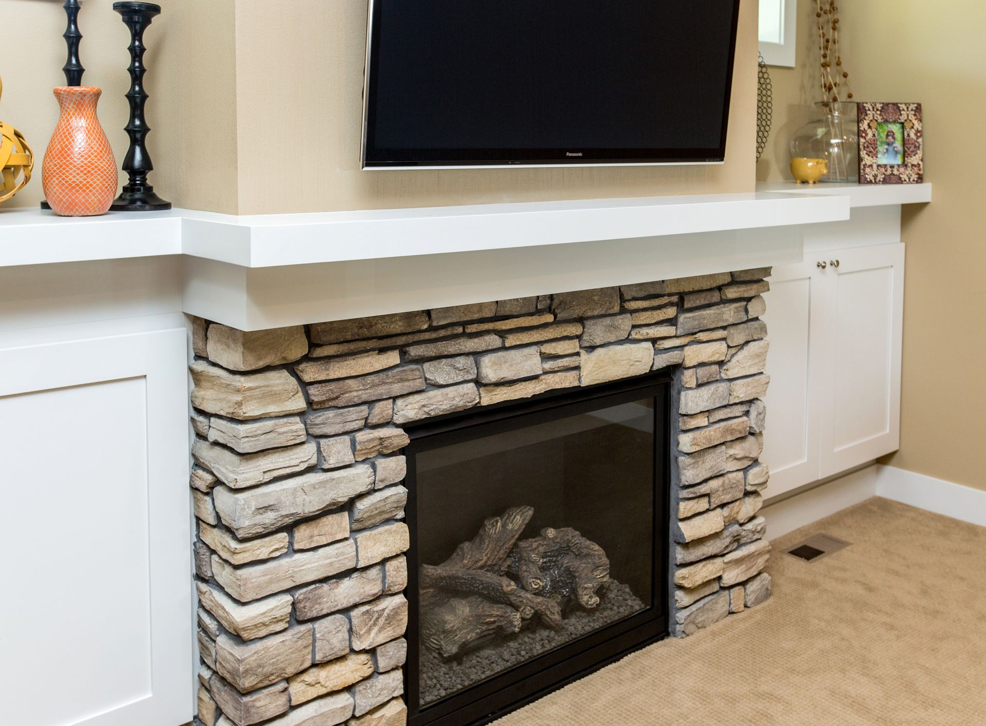 IA | Pinterest | Fireplace surrounds