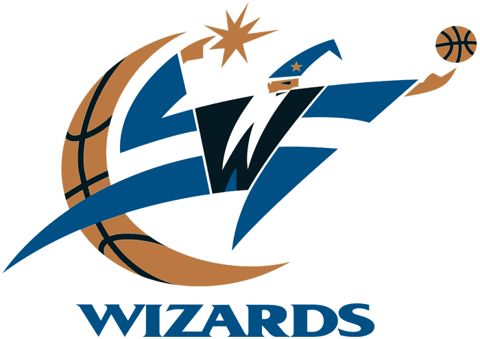 Washington Wizards Primary Logo Washington Wizards Wizards Logo Team Emblems