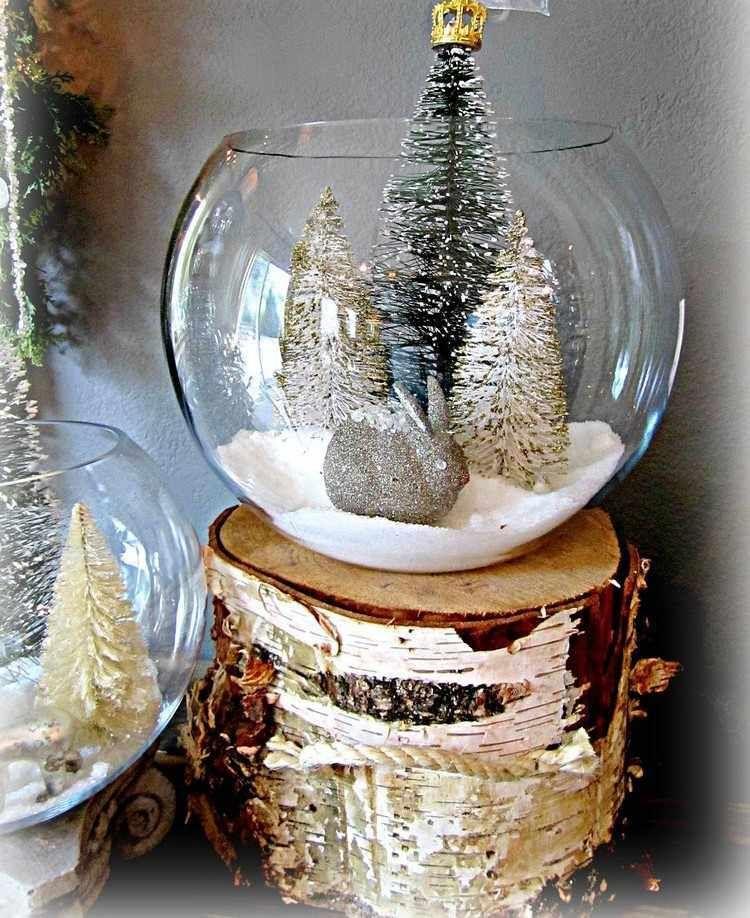 Boules de Noël en verre à décorer et alternatives en verrerie