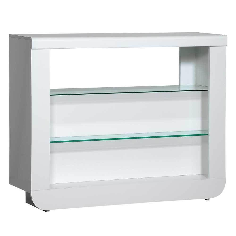 Bar-Möbel in Weiß Hochglanz LED-Beleuchtung Jetzt bestellen unter ...