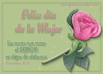Feliz Dia de la mujer a todas las mujeres del mundo q Dios nos bendiga siempre