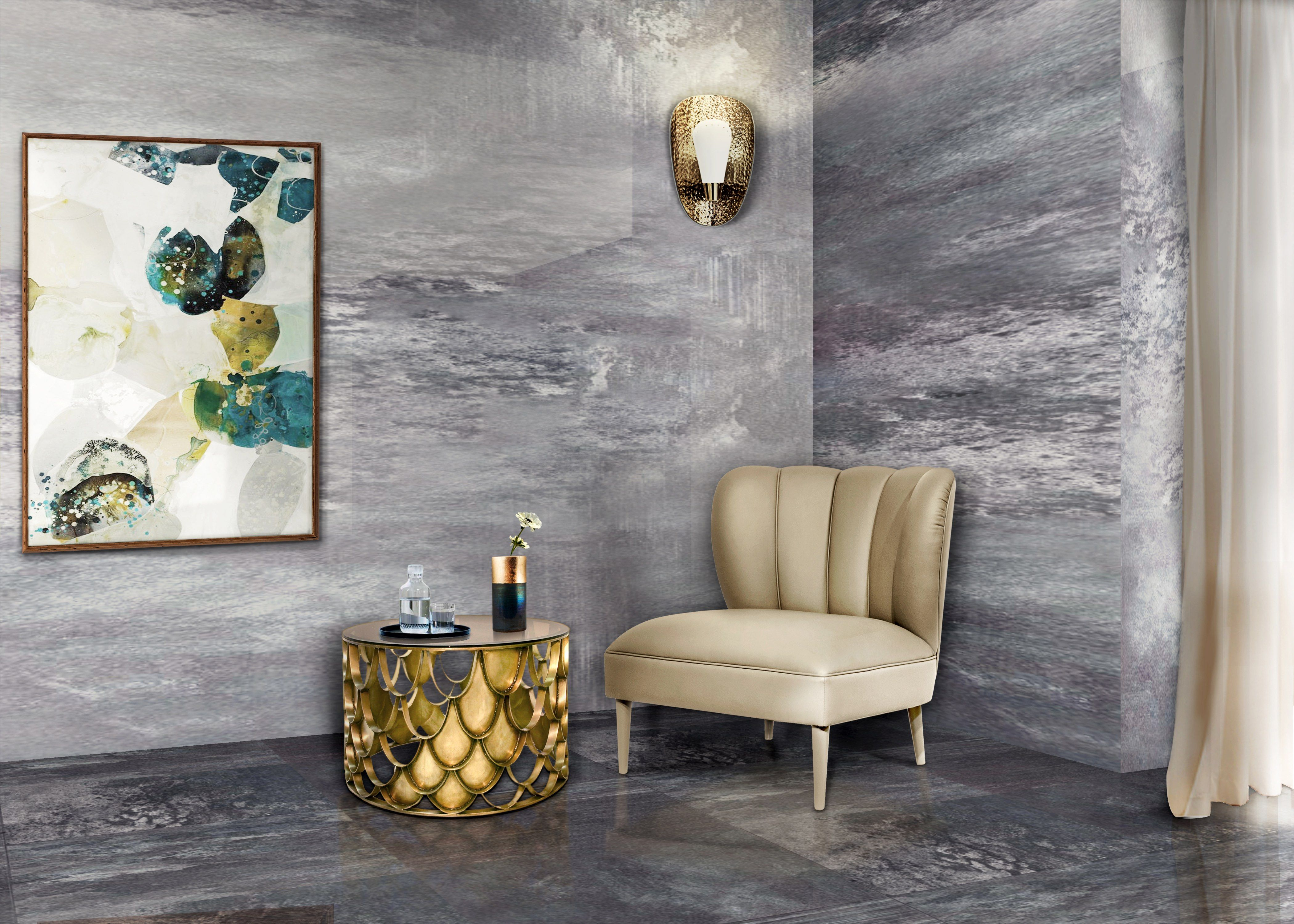 Inspiring modern living room decoration get inspired at isaloni and