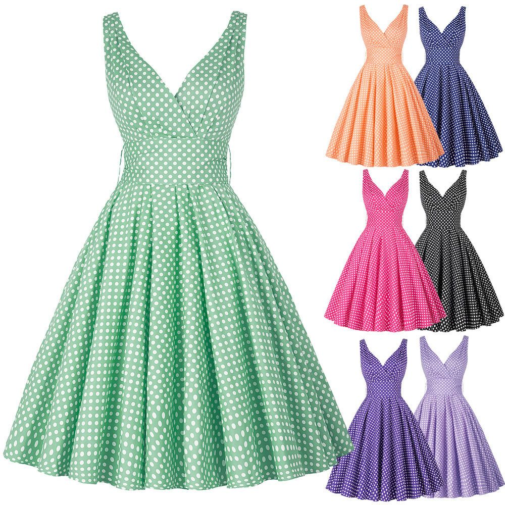 Details about us roll in rock dress vintage style swing pinup