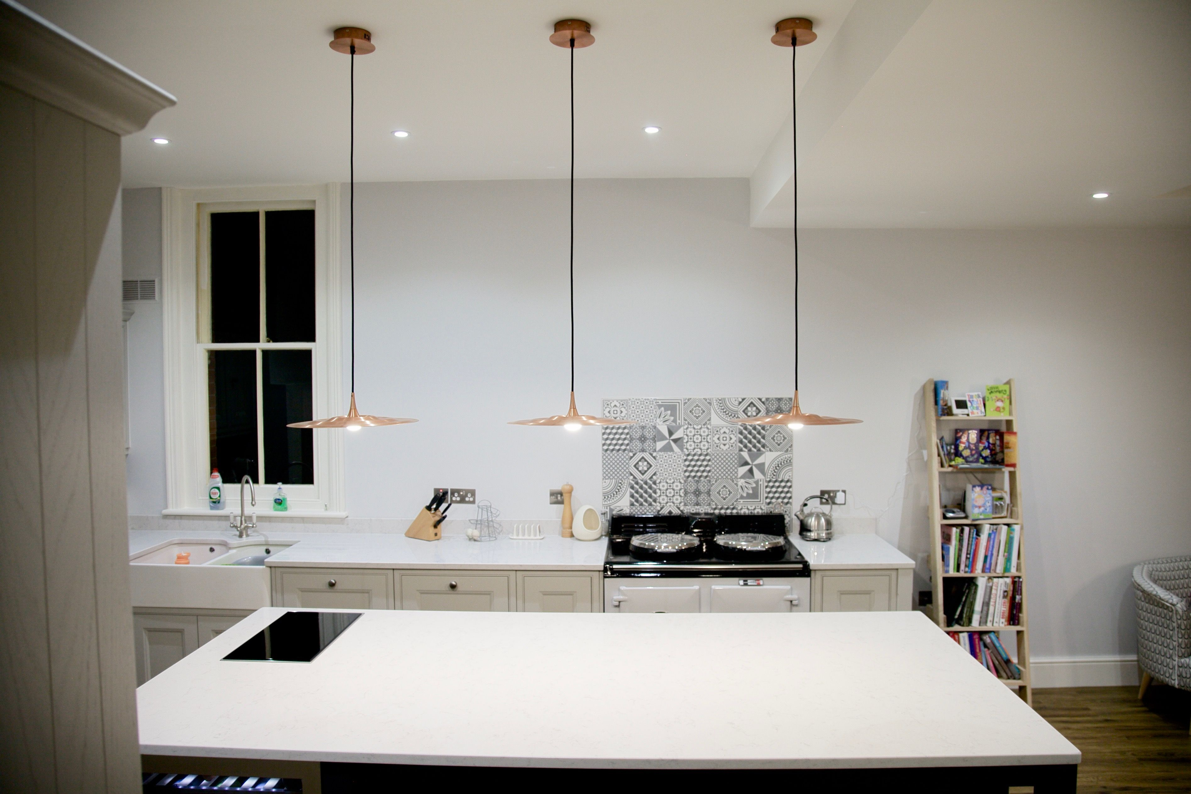 This is from a lovely extension we did to a kitchen in Canterbury ...