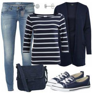 51ab617f98ee5 Style Damen Outfit - Komplettes Freizeit Outfit günstig kaufen ...