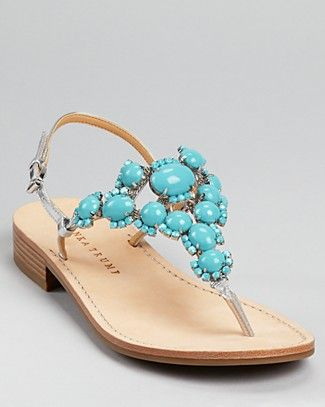 Love Turquoise Sandals!