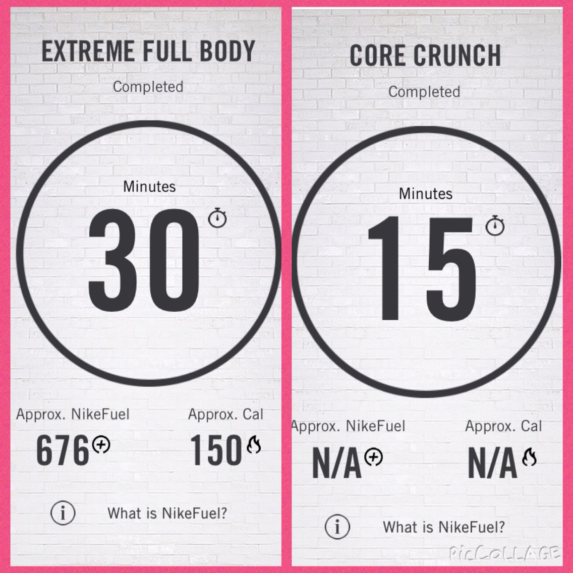 45 minutes of NTC.