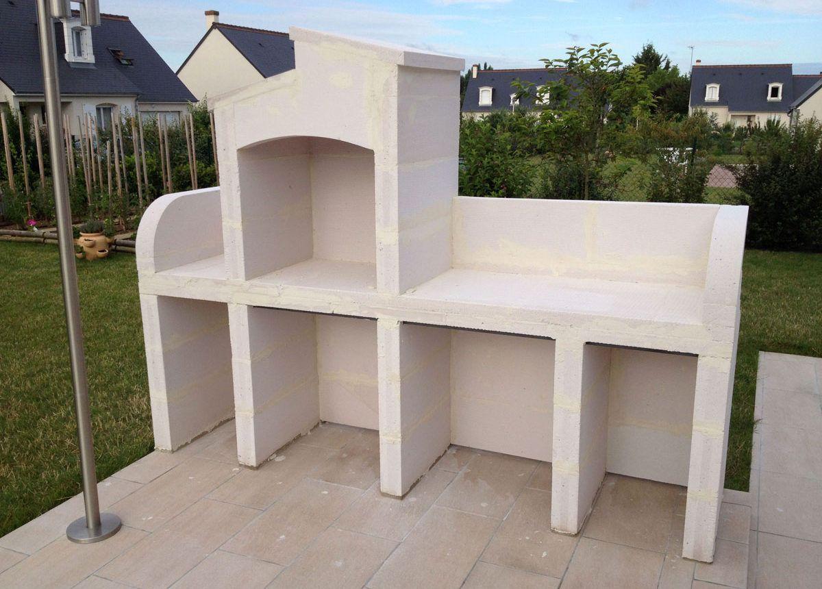 barbecue beton cellulaire bricolage en 2019 pinterest churrasquera asador et hornos. Black Bedroom Furniture Sets. Home Design Ideas