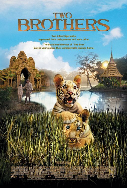 Two Brothers Rotten Tomatoes Brothers Movie Cat Movie Good Movies