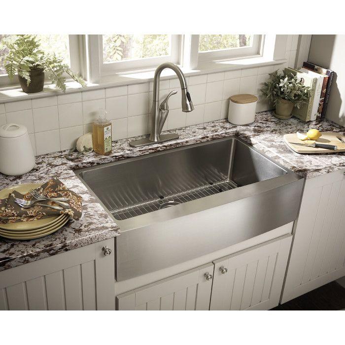Luxury Handmade 30 L X 21 W Farmhouse Kitchen Sink Farmhouse