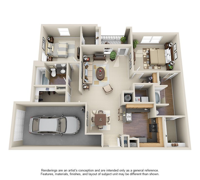 1 2 And 3 Bedroom Apartments In Willowbrook Houston Tx Houston Texas Apartment Steadfast Houston Apartment Sims House Design Apartment Layout