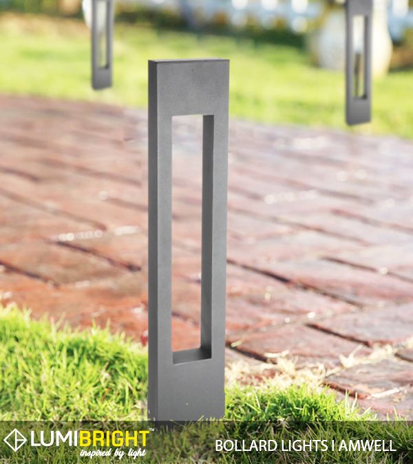 Slender Bollard Lights With Interesting