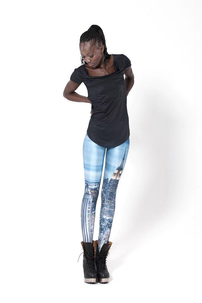 New York Skyeline Leggings