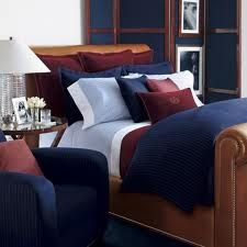 Lovin' this RL bedding set, plus the hubby approves!