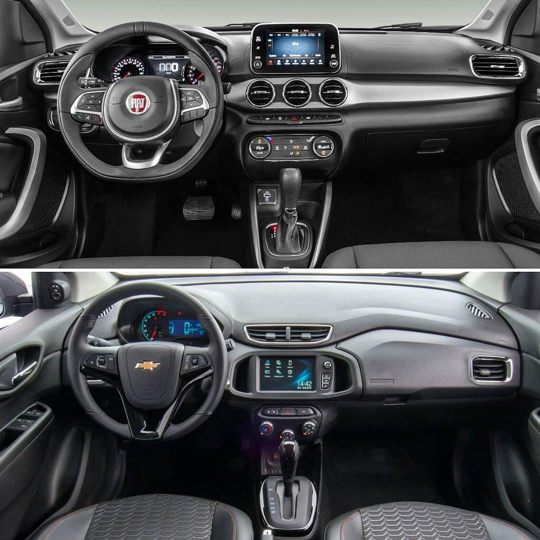 Fiat Argo X Chevrolet Onix Lancamento Da Fiat Quer Tomar O Lugar