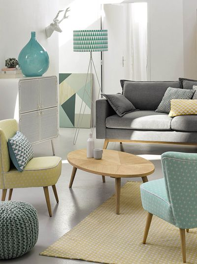 I have finally reached the end of my Maisons du Monde  marathon  It has been seven days of posts  so thank you for sticking with me  and    is part of Pastel living room -