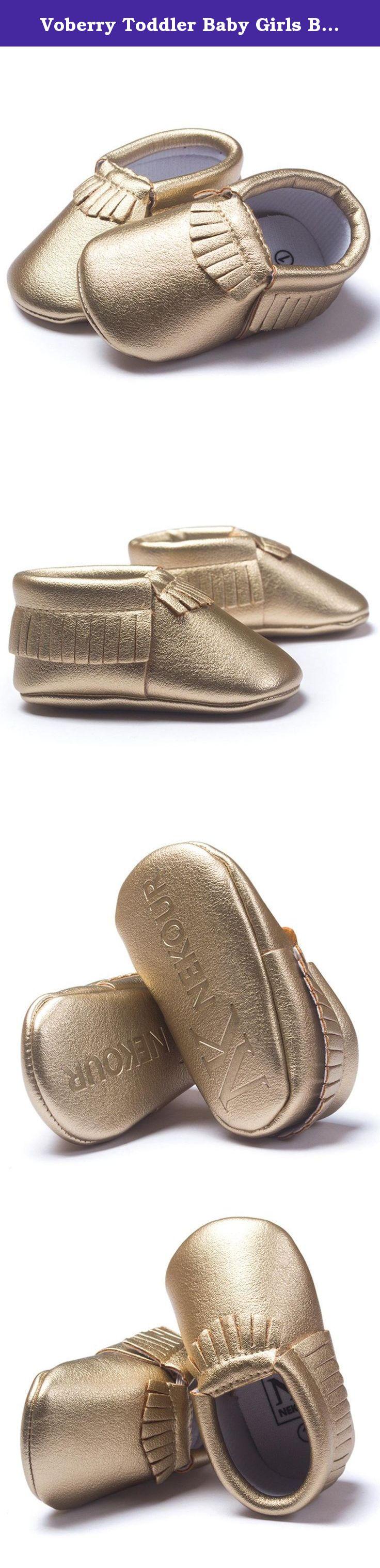 Voberry Toddler Baby Girls Boy s Sneaker Tassels Moccasins Anti slip