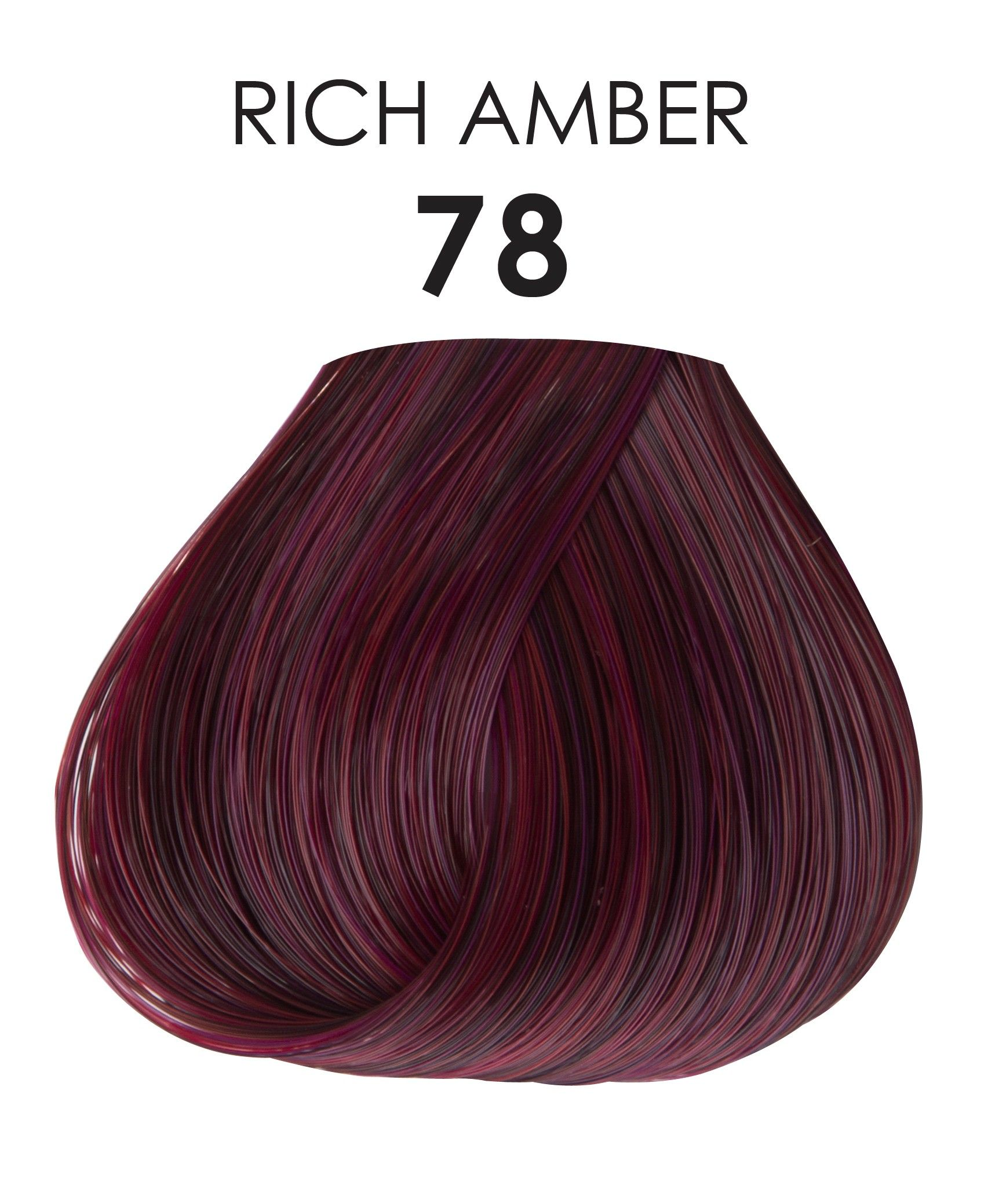 Rich Amber Hair Color Uphairstyle