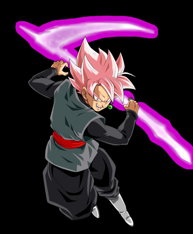Goku Black Super Saiyan Rose By Chronofz Dragon Ball Vorlagen