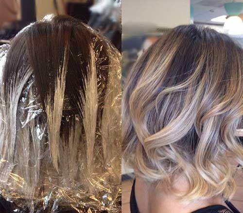 20+ Balayage Bob Hair, #Balayage #Bob #Hair #makeupcontourover50