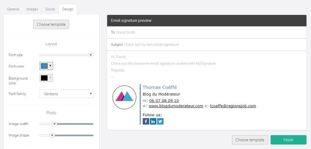 Un outil gratuit pour créer une signature mail facilement