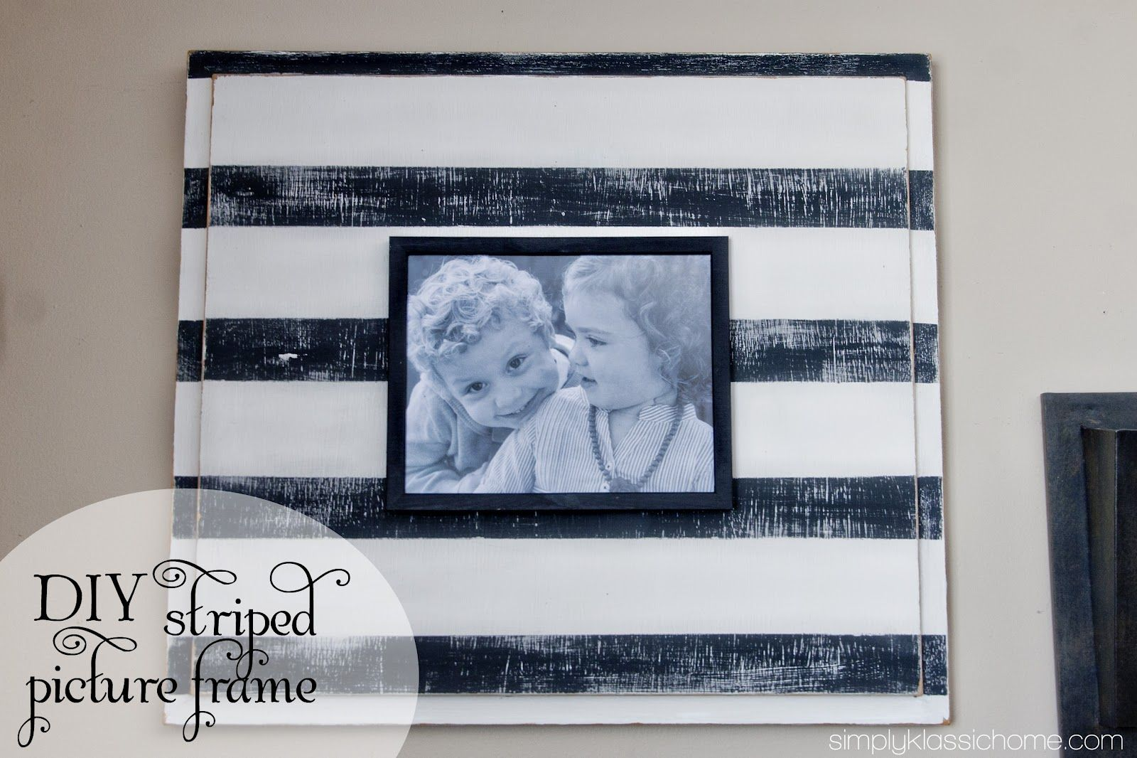 Love This Picture Frame Made With An Old Cabinet Door