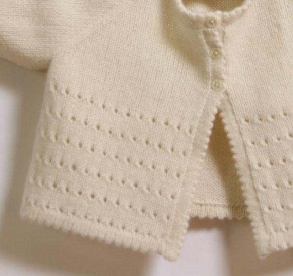 Baby Cardigan Knitting Pattern Instructions In English Pdf