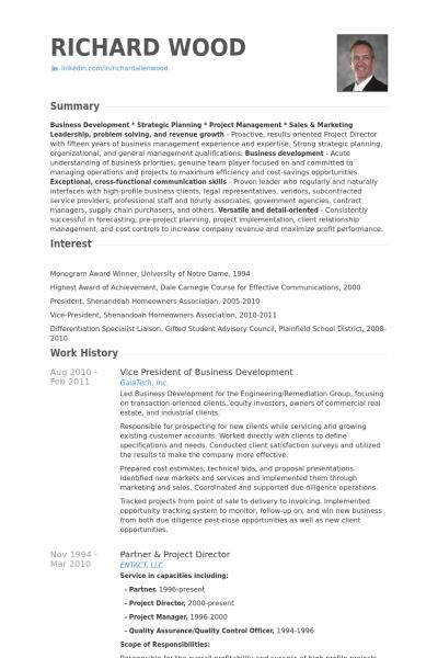 Resume Format Vice President Format President Resume Resumeformat Business Development Resume Examples Resume Format