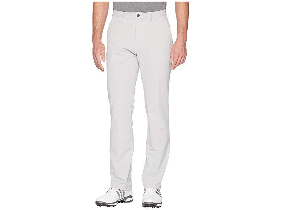 adidas Golf Ultimate Fall Weight Pants Grey Two Mens Casual Pants Break through the elements and achieve that perfect round Durable polystretch blend offers increased mob...