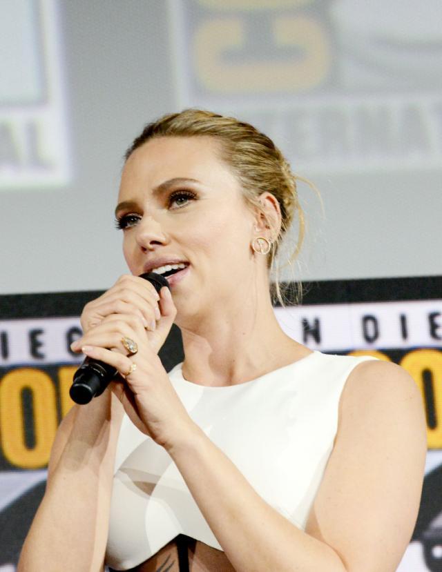 Scarlett Johansson Reveals Her Alarmingly Massive Yellow