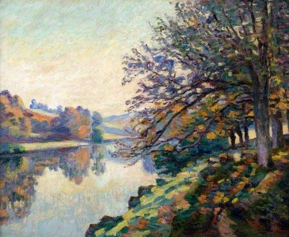 Your Paintings Armand Guillaumin Paintings Moret Sur Loing