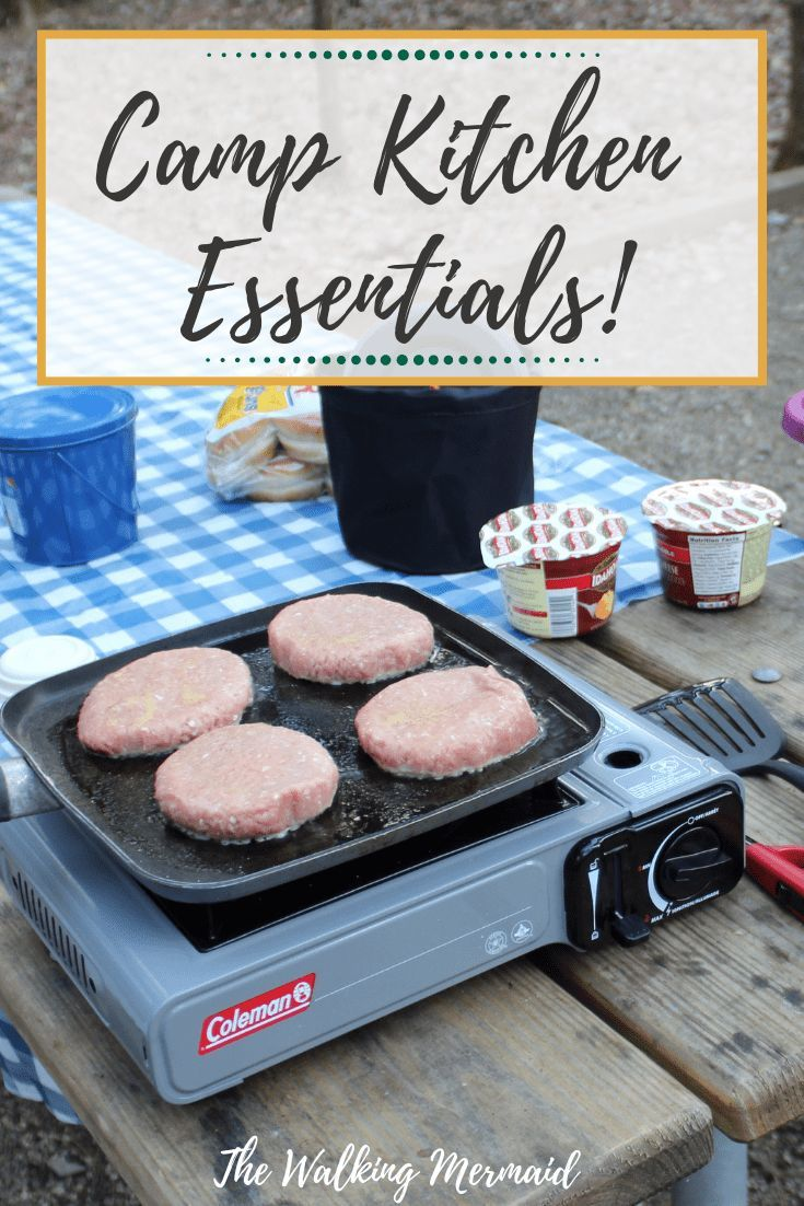 Camp Kitchen Essentials & Organization