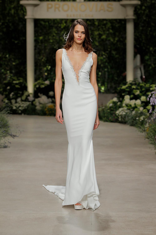 Pronovias Spring 2019 Collection: Bridal Fashion Week Photos