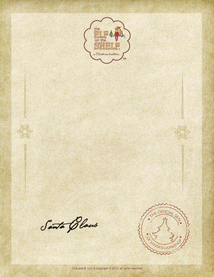 02434ea4e59709fa69f5cb88dbfd1c59 Official Santa Letter Free Template on printable editable, for preschool, printable pdf, north pole, black white, printable christmas,