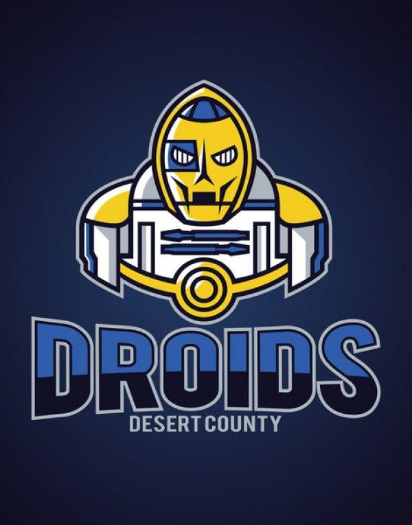 "Logos For ""Star Wars"" Sports Teams [T-Shirts]"