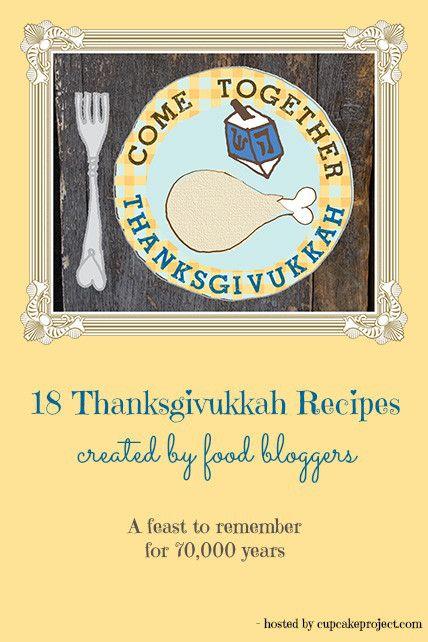 thanksgiving chanukah - Food bloggers